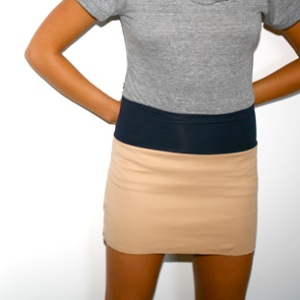 Interlock Mini Skirt at AA