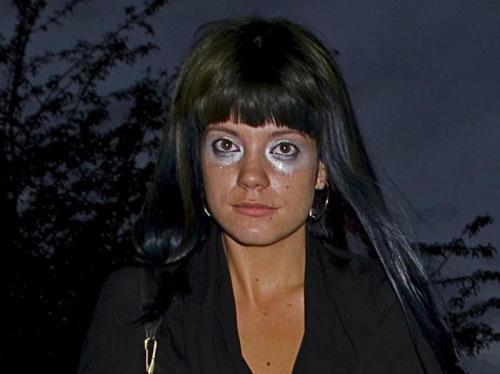 lily allen eye makeup