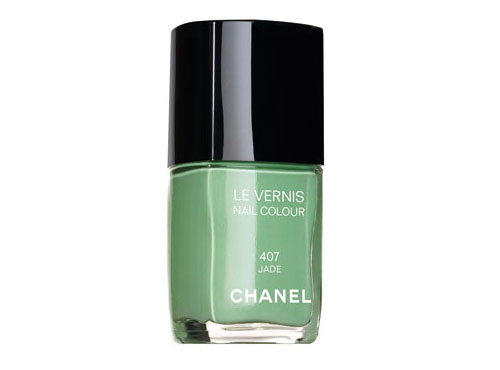 chanel jade nail varnish